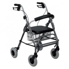 Deambulatore rollator 2in1